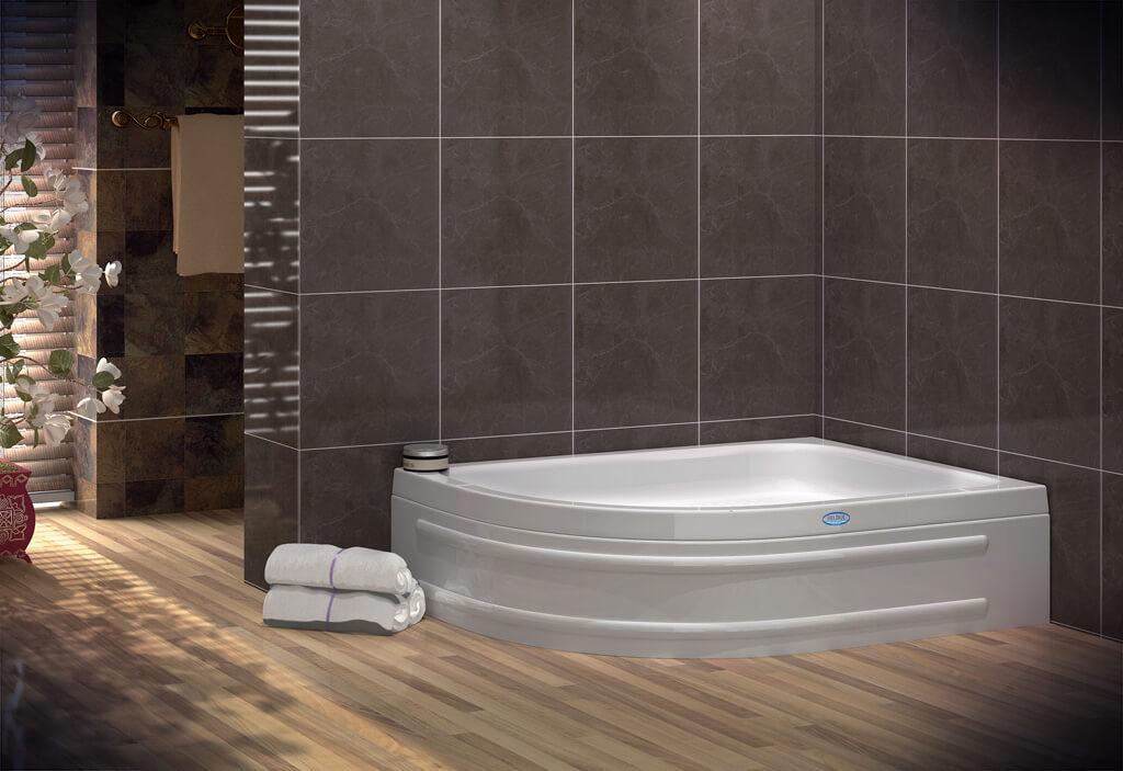 Asymmetric Bath & Jacuzzi