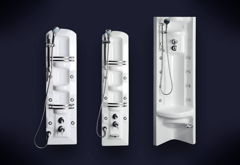 Vertical Hydromassage Systems