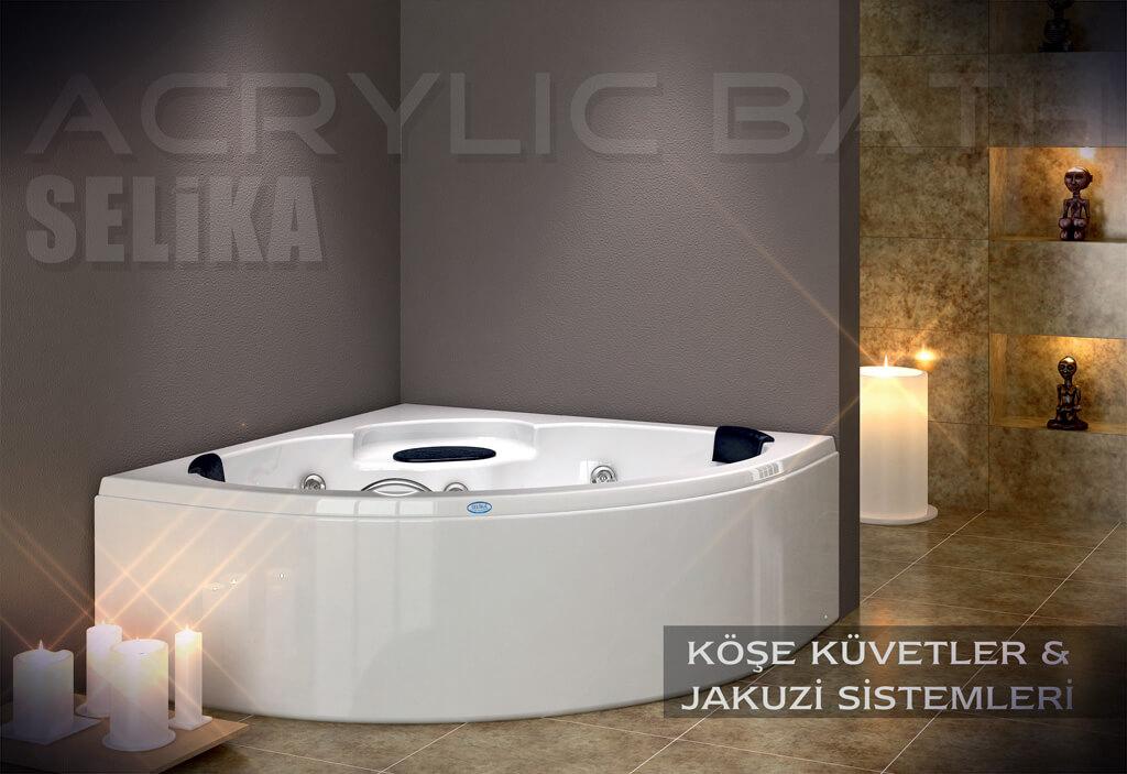 Corner Bathtub & Jacuzzi